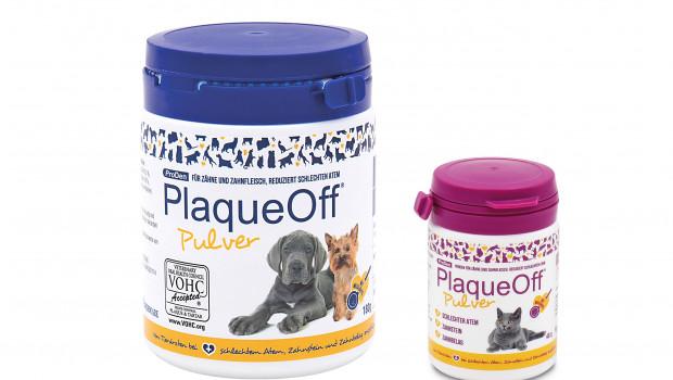Grau Spezialtiernahrung, Mundhygiene bei Hunden und Katzen, ProDen PlaqueOff, Seealge