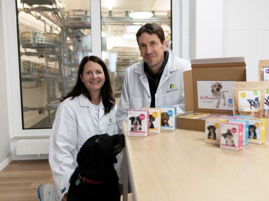 F&F Pet Food wurde von Beate Rank und Tobias Kobier gegründet.