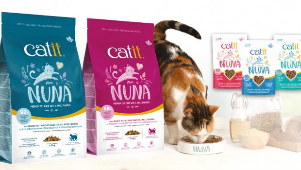 Catit Nuna, Premium-Alleinfuttermittel , Hagen Deutschland, Katzennahrung