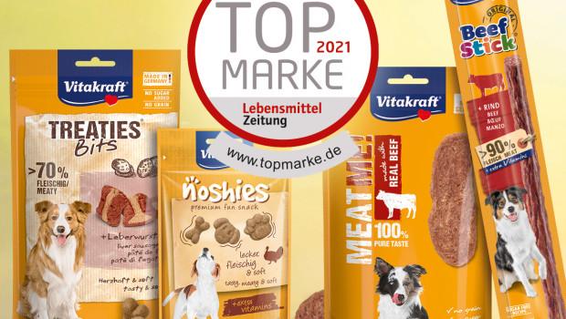 Vitakraft, Lebensmittel-Zeitung prämiert Vitakraft 2021, Top-Marke