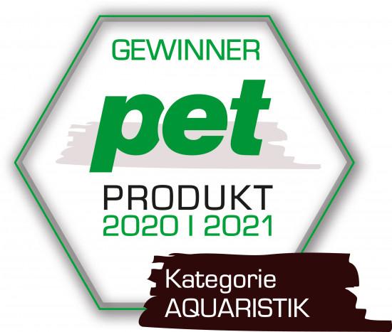 pet Produkt des Jahres 2020/2021, Kategorie Aquaristik