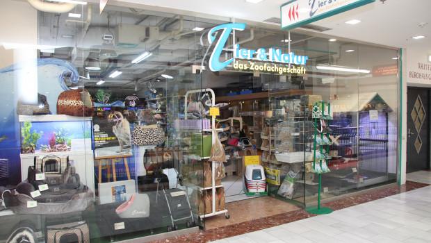 Die österreichischen Zoofachhändler, hier Natur & Tier in Wien, profitieren von den Folgeumsätzen der gestiegenen Heimtierhaltung.