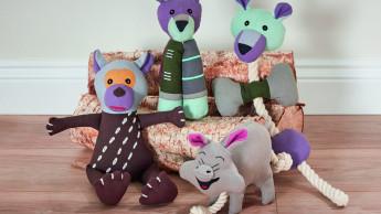 Spielzeug mit Bio-Baumwolle und Recyclingfüllung