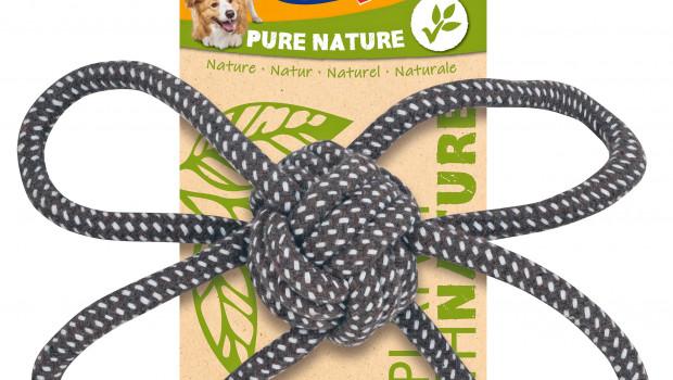 Vitakraft, Natur-Spielzeug für Hunde, Monster Party Toys
