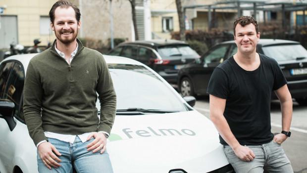 Die beiden Felmo-Gründer Philip Trockels (links) und Lars Giere.