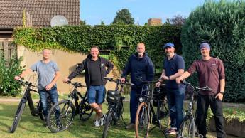 Mobiler Branchentreff mit dem Fahrrad
