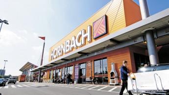 Hornbach steigert Umsatz deutlich