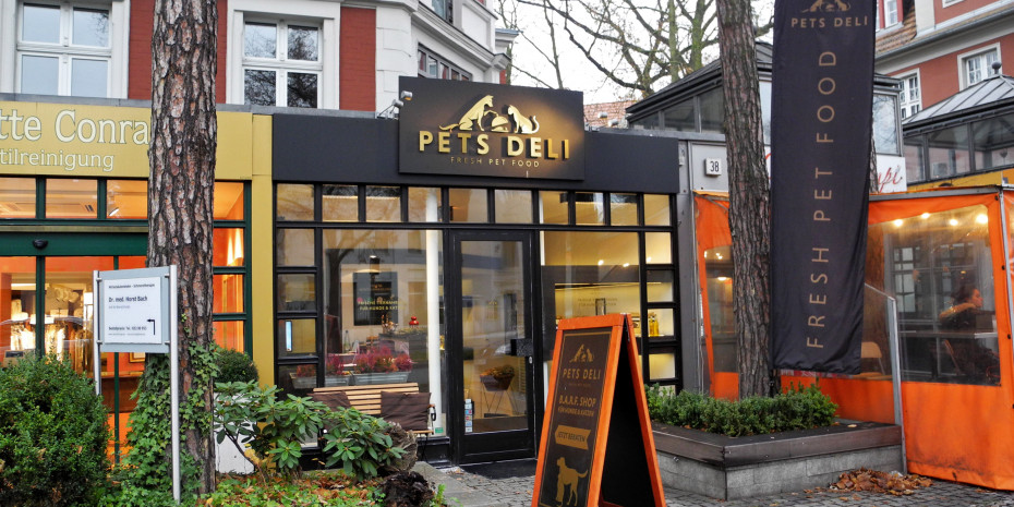 Pet's Deli, im Berliner Stadtteil Grunewald