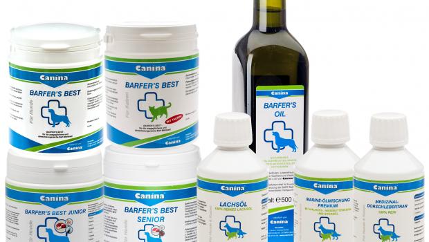 Barfen, Canina® pharma, Barf-Zusätze,