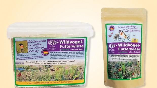 Wildvogel-Futterwiese ohne Gräser, Gevo-Wildvogel-Futterwiese, Gevo