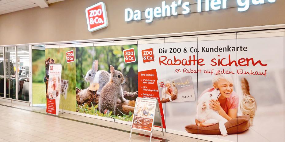 Zoo & Co. will durch eine emotionale Präsentation in ihren Fachmärkten Lust auf das Heimtier machen.