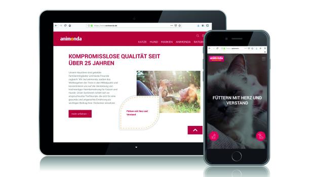Die neue Website richtet sich stärker denn je an Verbraucher.