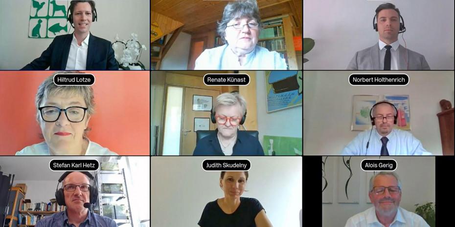 Interzoo.digital, Polit-Talk, Politiker, ZZF-Vertreter