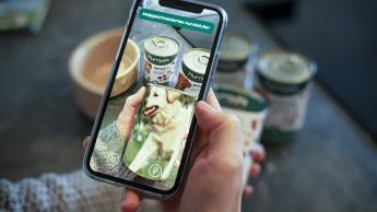 Start-up bringt Augmented Reality auf Futterdosen