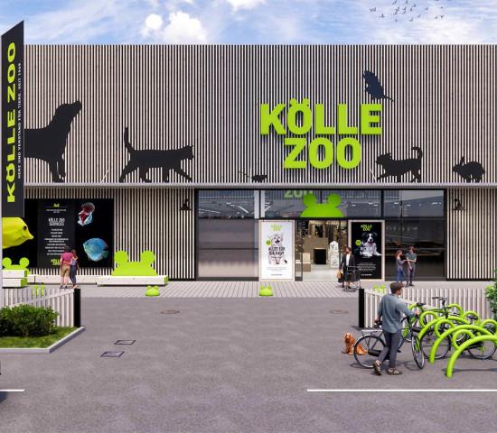 So soll der neue Kölle Zoo in Ulm aussehen, wenn er im November eröffnet.