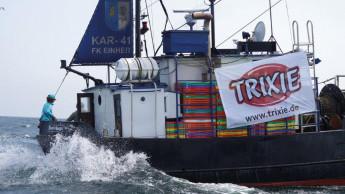 Trixie unterstützt Netzfischer mit 15.000 Euro