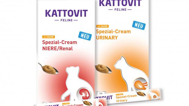 Finnern, Kattovit, Snacks für Ernährungssensible, Niere/Renal-Spezial-Cream, Urinary-Spezial-Cream