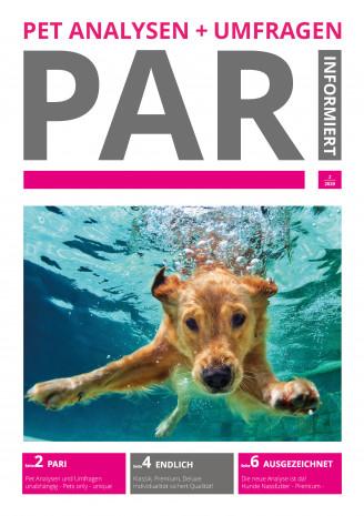 PARI-Analyse zum Thema Nassfutter für Hunde