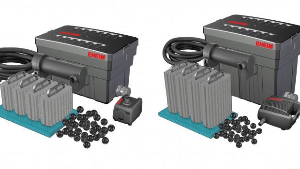 Kristallklares Teichwasser,  Eheim , LOOPpro6000-Filtersystem LOOPpro8000-Filtersystem