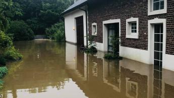 Solidarität mit Hochwasseropfern