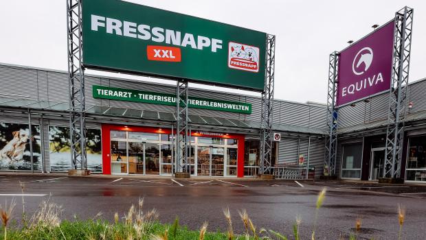 Der neu gestaltete XXL-Markt stellt einen Pilotmarkt der Fressnapf-Gruppe für ganz Europa dar.