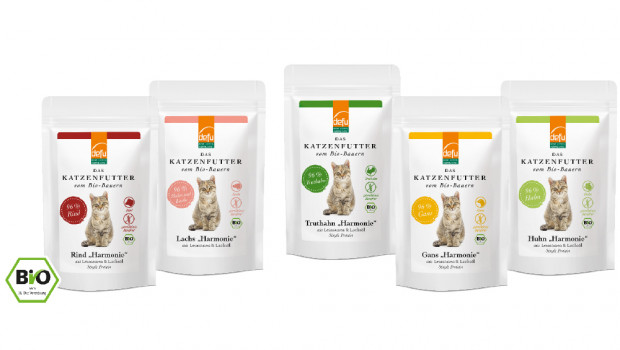 Bio-Pouches, Defu, Demeter-Felderzeugnisse , Katzennahrung