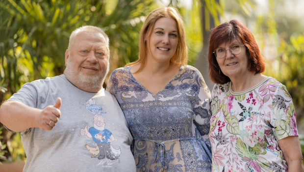 Norbert und Jutta Zajac haben Kathi Geven (mitte) in die Geschäftsführung berufen.