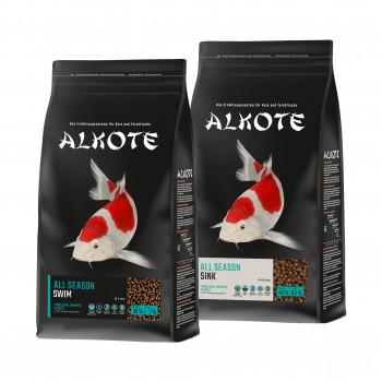 Hauptfutter für Kois, Allco, Alkote All Season