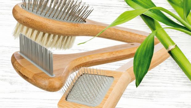 Trixie, Nachhaltige Fellpflege, Bambus