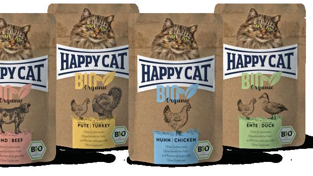 Happy Cat Bio Organic-Feuchtnahrung, Interquell
