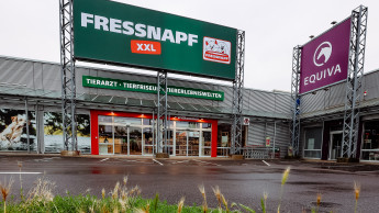 Ein neuer Fressnapf XXL in Krefeld