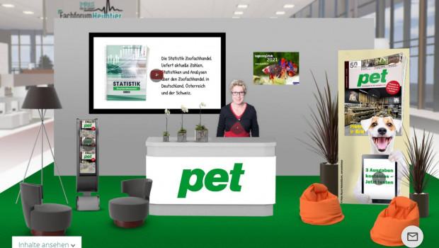 Auch der Dähne Verlag wird sich auf dem Fachforum Heimtier Digital präsentieren. Das Fachmagazin pet fungiert als Medienpartner des Events.
