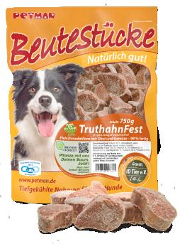 Petman, Beute für den Hund, Beutestücke