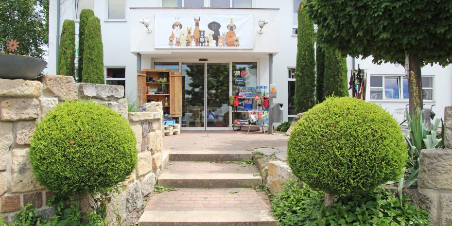 Seit 1993 ist das Fachgeschäft für Hund, Katz & Co. Mäule im Industriegebiet von Holzgerlingen.