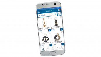 Fachhändler können in der App bestellen