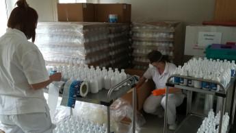 Ceva produziert Desinfektionsmittel nach WHO-Rezeptur