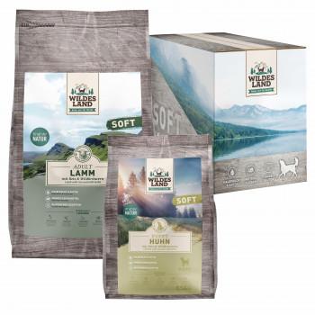 Premium Pet Products, Wildes Land, Neues Design, noch mehr Fleisch, Wildes Land Soft