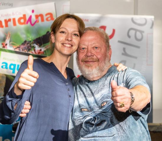 Aqua Ruhr, Tina Benneker und Norbert Zajac