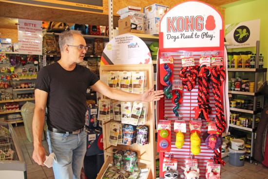 """Die """"Kong""""-Produkte aus den USA erfreuen sich großer Beliebtheit."""