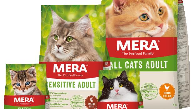 Mera, MERA Cats, Katzennahrung
