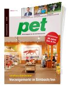 pet Fachmagazin für den Zoofachhandel und die gesamte Heimtier-Branche