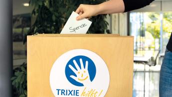 Trixie-Mitarbeiter sammeln Spenden