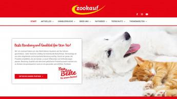 Relaunch der Zookauf-Website